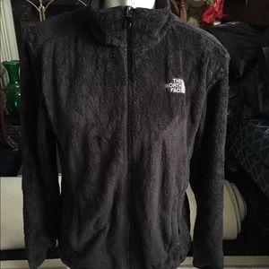 Northface - Black Zip Up Jacket Size Large